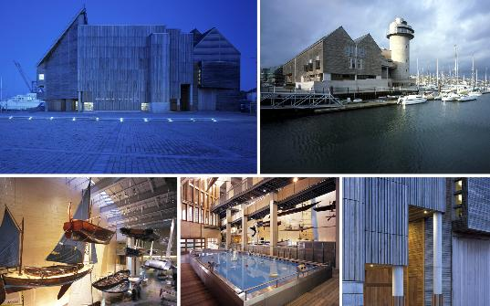 Photographs of the National Maritime Museum cornwall